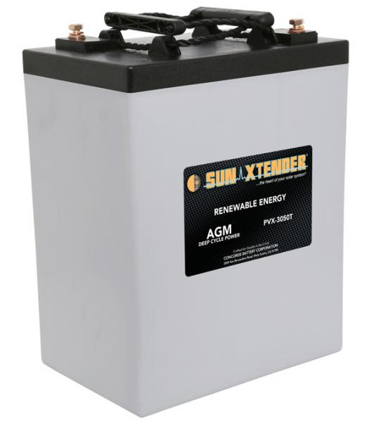 Concorde / Sun Xtender PVX-3050T AGM Battery