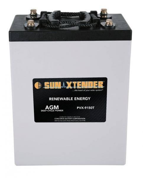 Concorde / Sun Xtender PVX-9150T AGM Battery