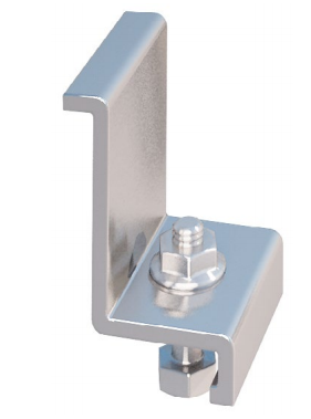 IronRidge End Clamp Silver