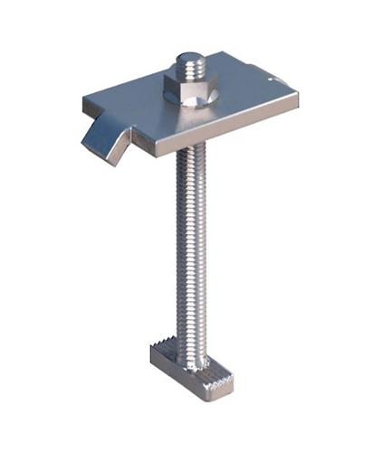 IronRidge Mid Clamp Silver