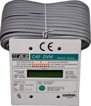 schneider c40 12 24 48v charge controller whole solar schneider xantrex cm 50 remote meter for xantrex c series