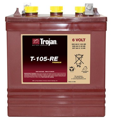 Trojan Battery Company T105 Flooded Battery