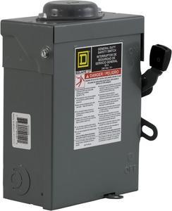 Square D DU222RB Safety Disconnect