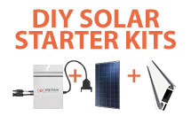 Enphase Energy Starter Kits with Astronergy Solar panels