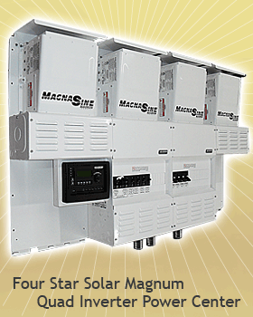 Four Star Solar Quad Inverter Power Center