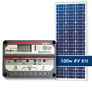 RV and Marine Solar Packages