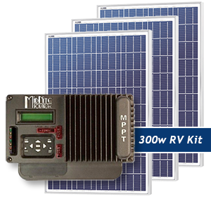 Weekender 300W RV Solar Panel Kit