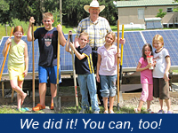 we did solar, you can too