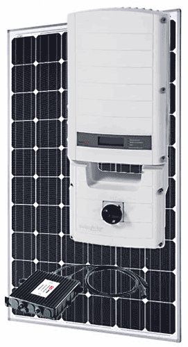 WSS 10 Panel SolarEdge / SolarWorld Grid-tie  System