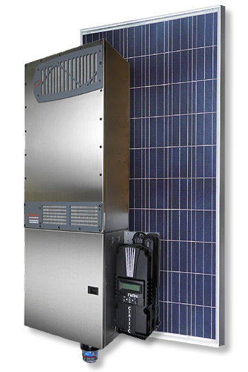 WSS 2.34 kW Grid‑Assisted Solar System with Outback Radian and 9 Astronergy 260 Panels System