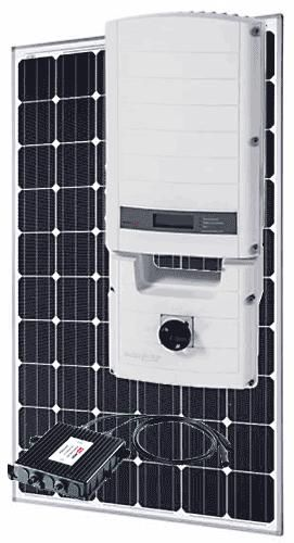 SolarEdge Grid-Tied Systems with SolarWorld 320 W Panels