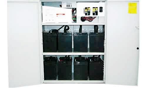 WSS Outdoor 4400 Watt USA Power Central 48VDC