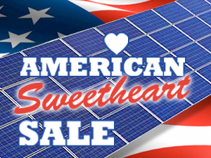 Sweet Savings on Solar World Systems with American Made Panels!