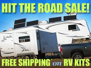 Free Shipping On Solar RV Packages