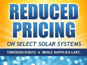 Huge savings on SMA Solar Packages
