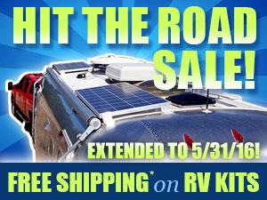 Free shipping on Solar RV Kits