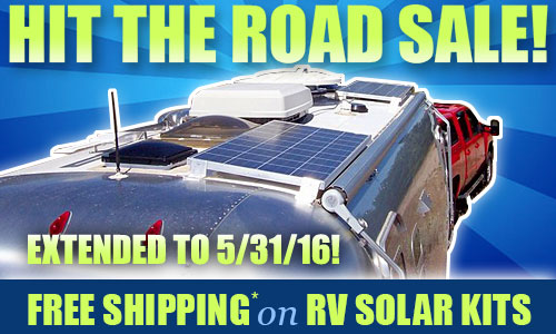 Hit the road with solar for your RV