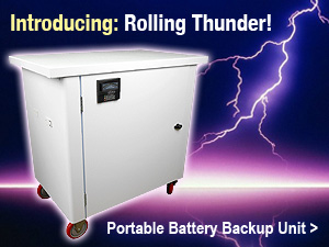 Introducing Four Star Solar's mobile battery backup unit