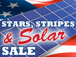 Discounted American Made Solar Panels