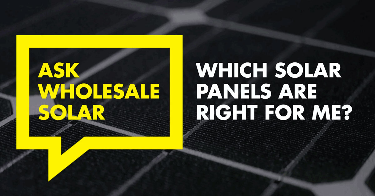 SolarWorld panels and Systems