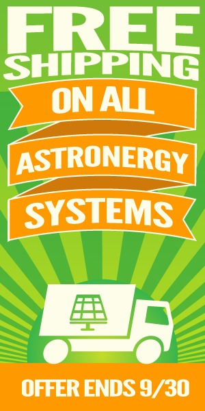 Free Shipping on Astronergy Systems