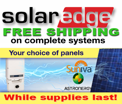 SolarEdge Systems Complete Solar Packages Sale