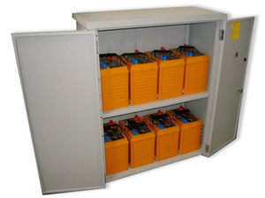 Four Star Solar Add-on 48 VDC  9,600 Wh with MNBE-D enclosure (8) Battery Bank
