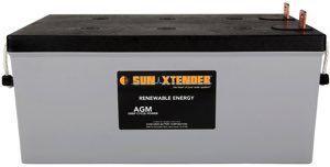 Concorde / Sun Xtender PVX-2580L AGM Battery