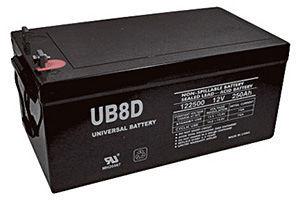 UPG Deep Cycle 200 Ah 24 VDC 4,800 Wh (4) Battery Bank
