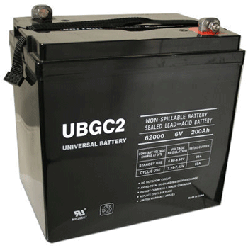 UPG Deep Cycle 200 Ah 12 VDC 2,400 Wh (2) Battery Bank
