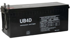 UPG UB-4D AGM Battery