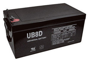 UPG UB-8D AGM  Battery