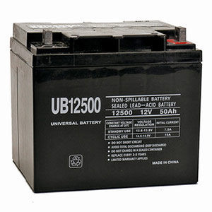 UPG UB12500 AGM Battery