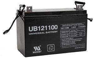 UPG UB-121100 (Group 30H)  Battery
