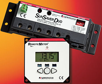 Morningstar Corporation SunSaver Duo SSD-25RM Charge Controller