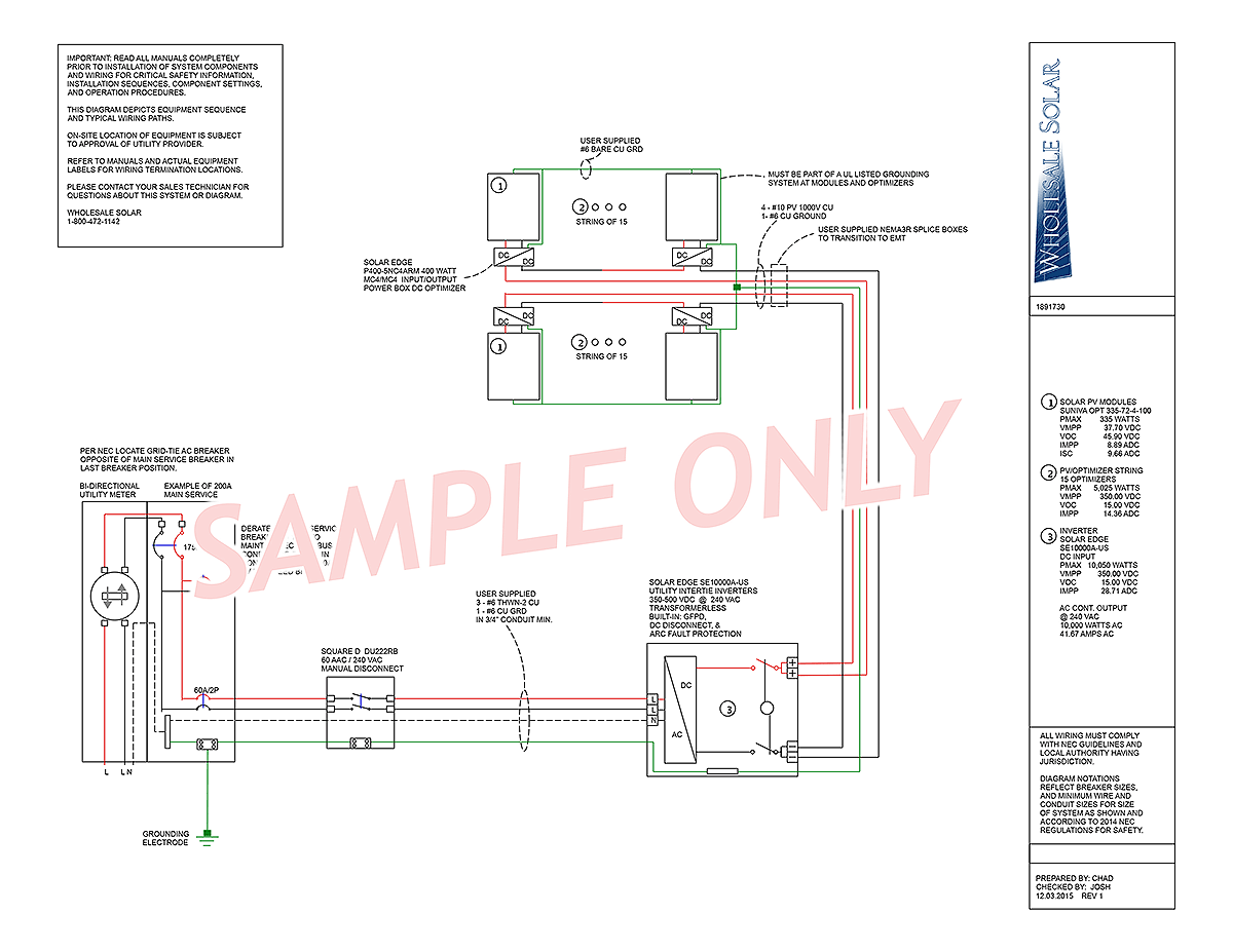 electrical wiring diagrams from wholesale solar rh wholesalesolar com NEC PBX Wiring Diagrams Trailer Wiring Diagram