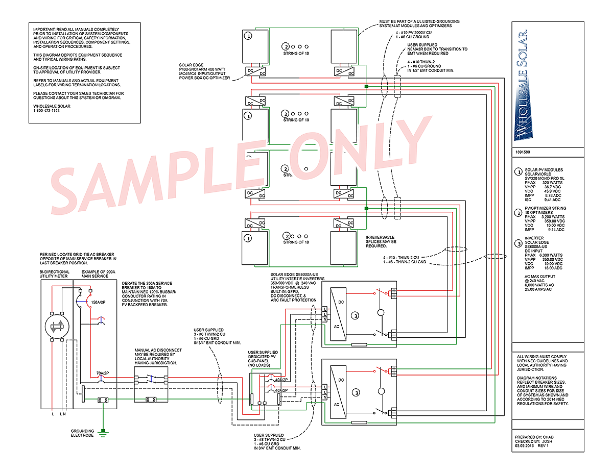 electrical wiring diagrams from wholesale solar rh wholesalesolar com Trailer Wiring Diagram Trailer Wiring Diagram