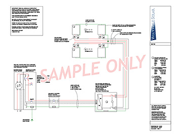 electrical wiring diagrams from wholesale solar rh wholesalesolar com