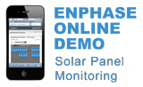 Enphase Online Demo - Solar Panel Monitoring