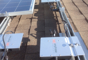 Enphase Solar Power Installation
