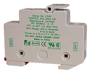 MNTS 1000VDC Fuse Holder 30Amp Max Din midnite solar mnpv2 mc4, 2 position pre wired combiner box  at reclaimingppi.co