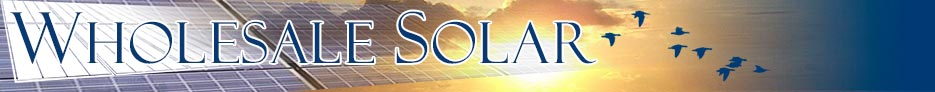 Wholesale Solar Banner