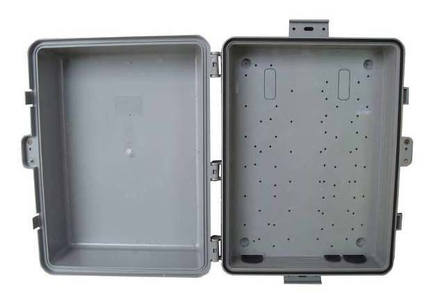 Solarland SLENC-PL-14105 Polycarbonate Outdoor Enclosure, NEMA 3R/IP54
