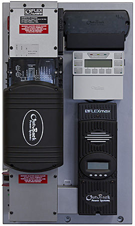 Outback Power FP1 GTFX3048 w/ FM80 FLEXpower ONE Power Center