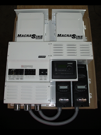 Four Star Solar MS4448 Dual Magnum w/ 2 FM80's Power Center