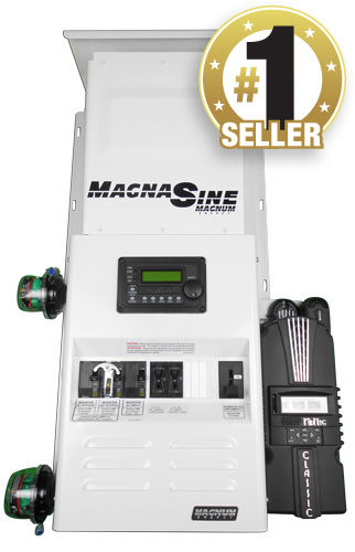 Four Star Solar MS4024PAE Single Magnum with Classic 150 Power Center