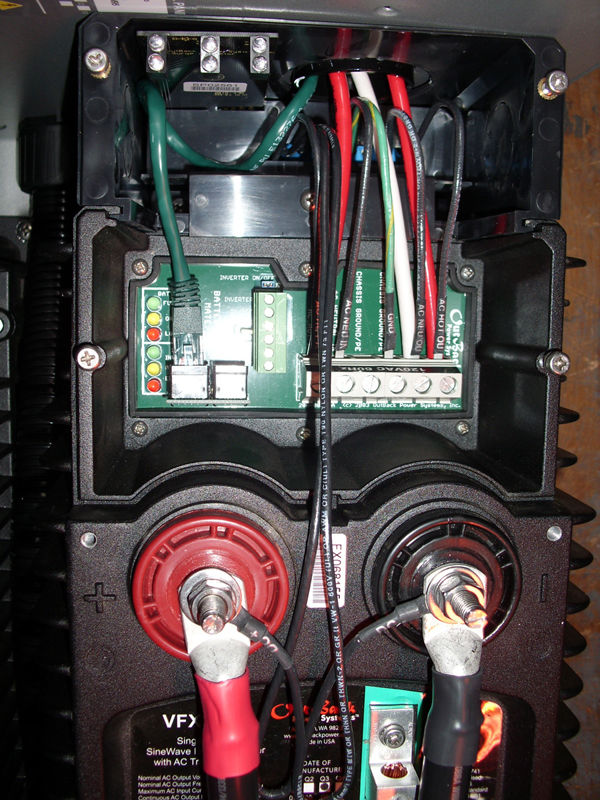 outback power flexpower inverter systems flexware power system inside wiring