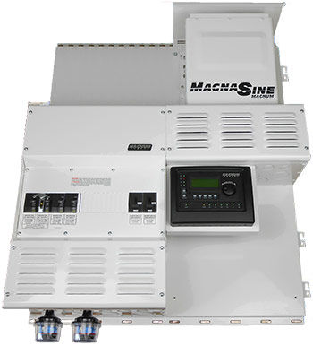 Four Star Solar Expandable Single Magnum MS4448PAE w/ 2 Classic 150s Power Center