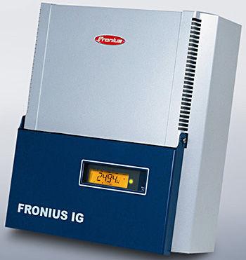 Fronius IG 2000 Fronius Inverter Inverter