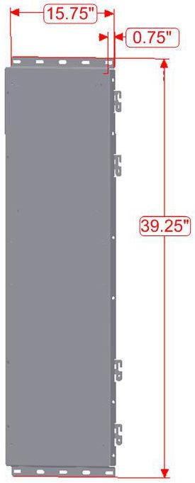 Magnum Energy BP-S Single Back Plate